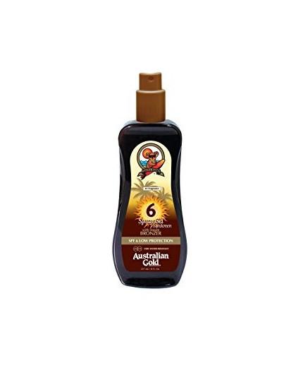 Spray Gel SpF 6 con effetto bronze