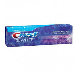 CREST - 3D - WHITE RADIANT MINT
