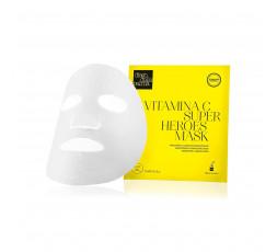 Vitamina c - superheroes mask - maschera illuminante energizzante