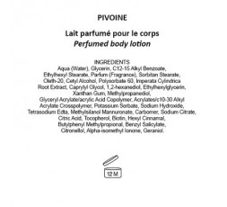 PIVOINE - Latte Corpo
