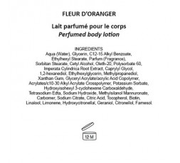 FLEUR D'ORANGER - Latte Corpo