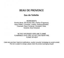 Beau de Provence - Eau de Toilette